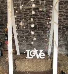Photo Frame and lights for Hire