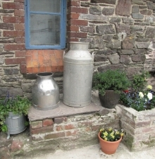 Display Milk Churns for Hire