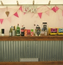 Rustic Bar to Hire with or without staff