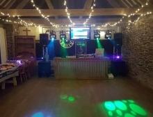 Wurzell Whistle disco set up
