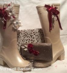 wurzell wedding wellies 1